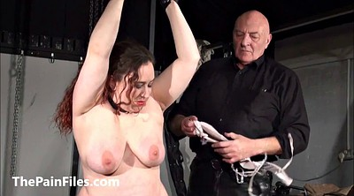 Torture, Bbw bdsm, Leather, Bdsm bbw, Whipped, Breast