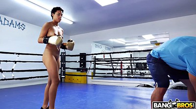 Teen ebony, Black teen, Boxing, Box