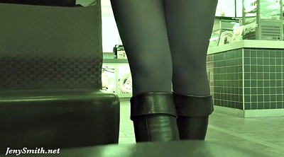 Spy, Upskirt, Public flash, Clothed