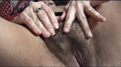 English, Hairy mature, Big milf