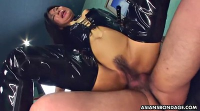 Japanese bdsm, Asian bdsm, Shaking orgasm, Shake, Latex fuck, Japanese face sitting