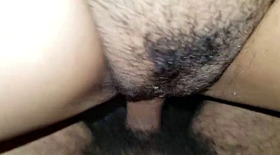 Hairy, My girlfriend, Amateur girlfriend, Cum on hairy