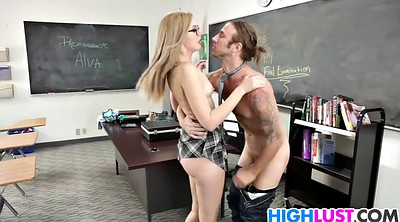 Alexa grace, Grace, Big tits teacher