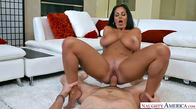 Ava addams, Ride dildo, Plumber, French mature