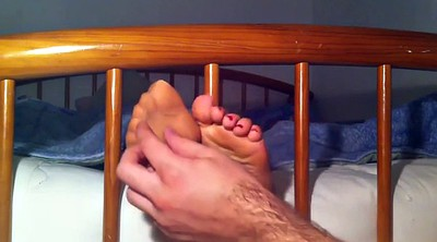 Tickle, Tickling, Nylon foot, Nylon feet, Nylons, Tickling feet