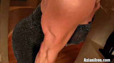 Huge dildo, Compilations, Strong, Fitness