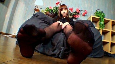 Foot, Japanese pantyhose, Japanese foot, Pantyhose foot