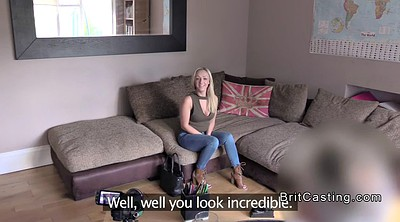 Casting anal, Blond