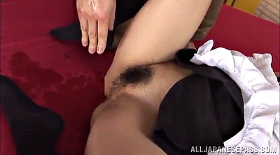 Stockings, Asian maid, Lingery, Asian stockings