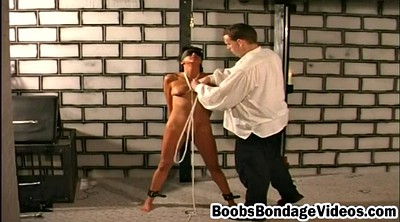 Boobs, Blindfold, Blindfolded, Rope, Dungeon