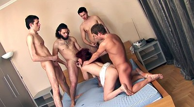Group sex, Anal mom