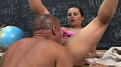 Teacher mature, Blowjob