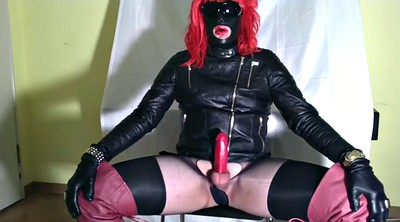 Milk, Crossdresser, Gloves, Crossdressers, Black shemale
