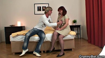 Mature sex, Stocking mature, Old young, Stocking sex