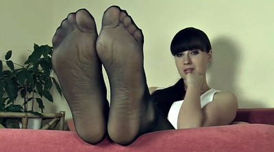 Pantyhose, Nylon feet