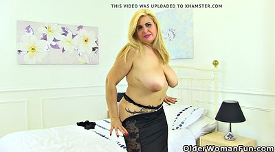 Spanish, Mature dildo