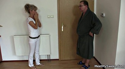 Old young, Old couple, Mature threesome, Hardcore mature, Granny couple