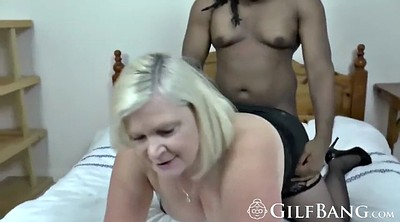 Mature ebony, Granny big tits