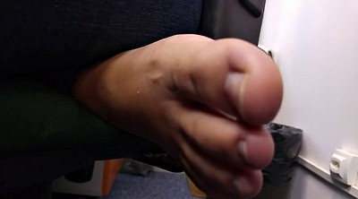 Italian, Office foot, Candid feet