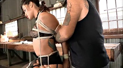 Bdsm, Tied up, Tied tits, Tie, Rope