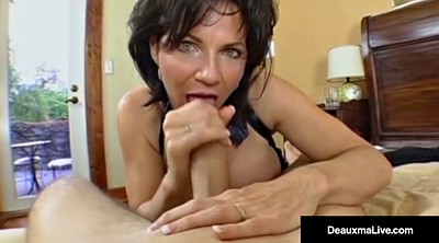 Mature blowjob, Big ass mature