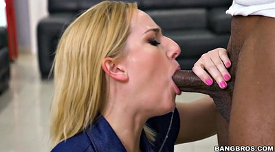 Kate england, Big black cock, Clothed, Cigarette