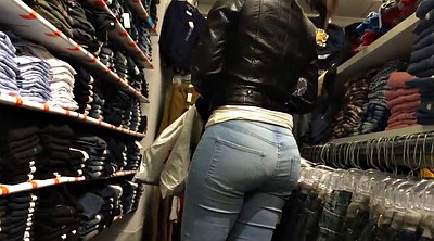 Voyeur, Candid, Collection, Candid ass, Mall, Big asses