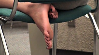 Candid, Library, Sole, Candid foot, California, Feet candid