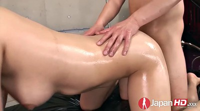Oil, Japanese pussy, Japanese close up, Hairy creampie, Creampie close up