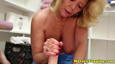 Mature handjob, Stepmom pov, Mature pov