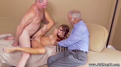 Old and young, Wife threesome, Handjob compilation
