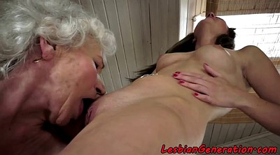 Hairy mature lesbian, Hairy lesbian, Eating pussy