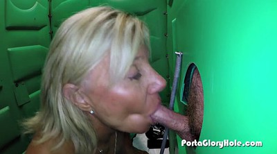 Holed, Public cock, Porta gloryhole