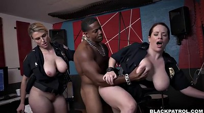 Police, Ride, Black pussy licking, Lick pussy, Face