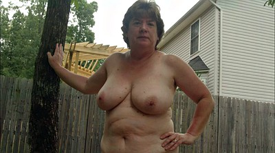 Hairy mature, Outside, Hairy matures