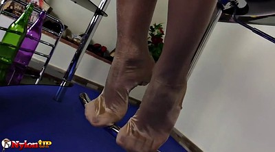 Foot, Feet show, Stockings feet, Show, Foot show