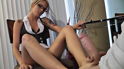 Footjob, Milf slut