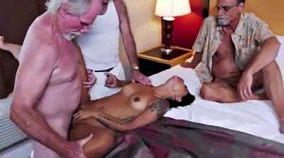 Hotel, Old woman, Old men