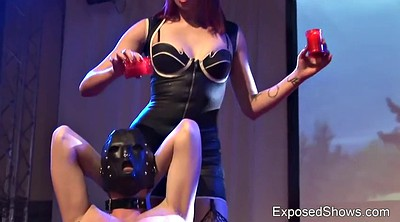 Slave, Punish, Dominatrix, Leather dominatrix, Amateur bdsm