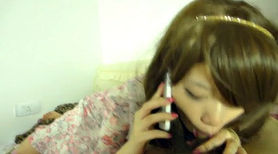 Chinese, Chinese girl, Phone, Chinese blowjob