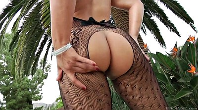 Stockings, Tease, Stockings solo, Solo stockings, Lace, Big body