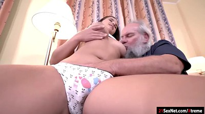 Young and old, Ass granny