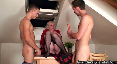 Wife young, Old mature