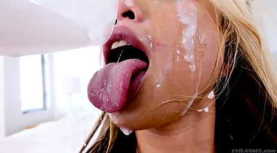 Deepthroat, Asian bukkake
