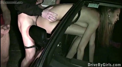Young girl, Fuck in car