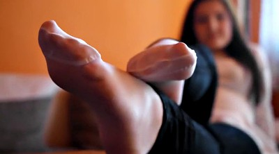Nylon feet, Nylon foot, Nylon foot fetish, Feet nylon