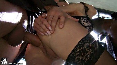 Mmf, Double handjob, Anal threesome