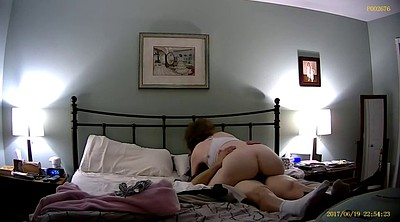 Wife rides, Wife orgasm, Hidden sex