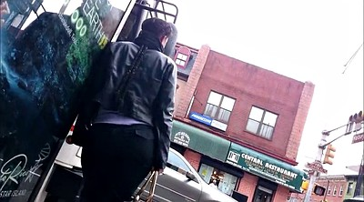 Bus, Stop, Bbw candid, Bbw big ass, Candid ass