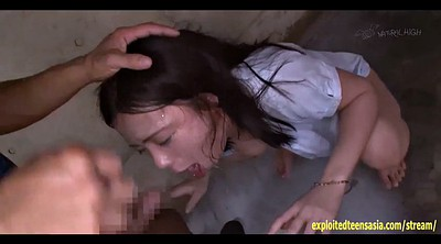 Asian anal, Enema, Student, Japanese squirt, Japanese squirting, Car
